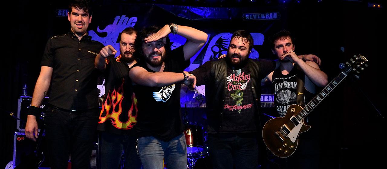 The Buzzos 2018-06-02. Club Conciertos Badajoz © Roberto J. Juárez