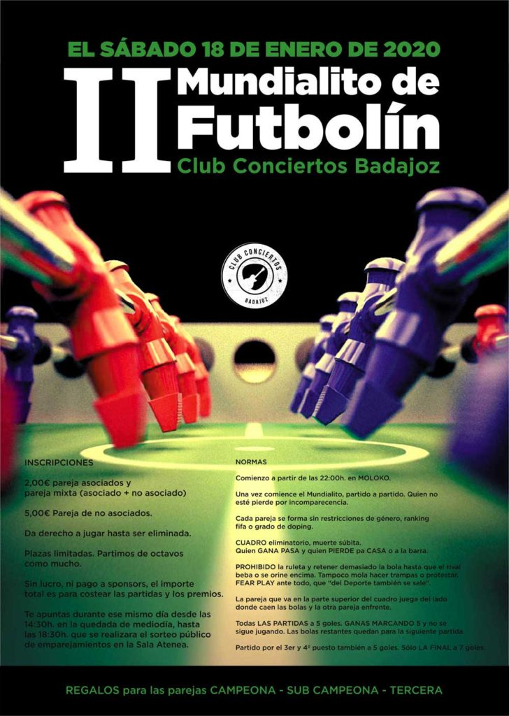 II Mundialito de Futbolín