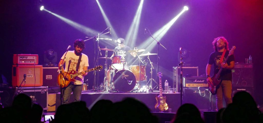 Bourbon actuará en Club Conciertos Badajoz