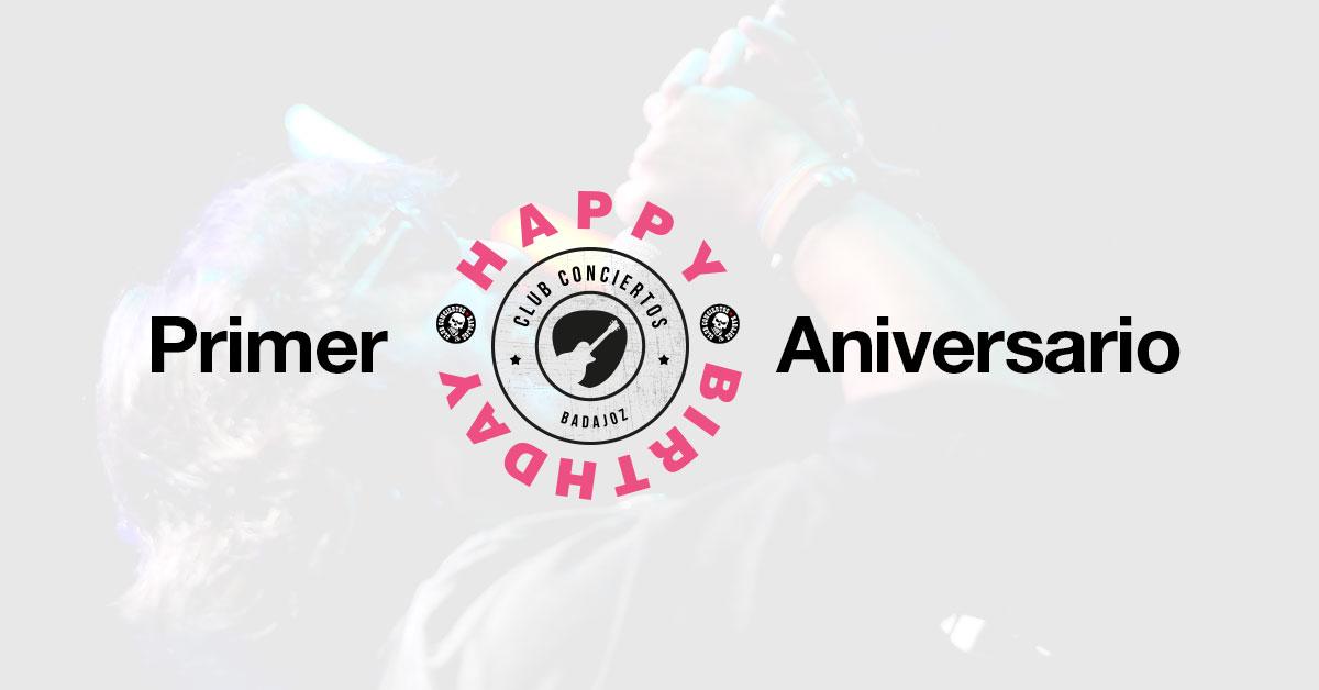 Primer Aniversario del Club Conciertos Badajoz