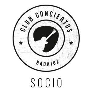 Suscripción de socio a Club Conciertos Badajoz